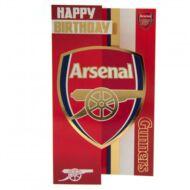 Arsenal születésnapi kártya