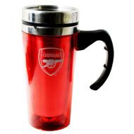 Arsenal utazó bögre