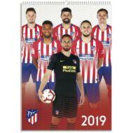 Atletico Madrid fali naptár 2019