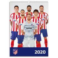 Atletico Madrid fali naptár 2020