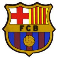 FC Barcelona hűtőmágnes 3D