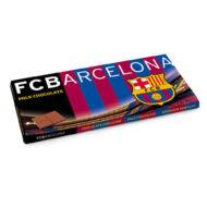 FC Barcelona tejcsokoládé