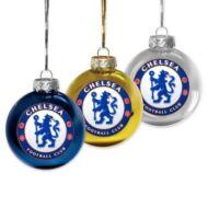 Chelsea karácsonyi dísz  - 3db-os
