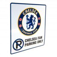 """Chelsea FC """"Parkolni tilos"""" tábla"""