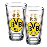 Borussia Dortmund üvegpohár készlet