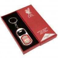 Liverpool sörnyítós kulcstartó RED