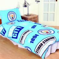 Manchester City ágynemű paplan-és párnahuzat PRIPTELLE