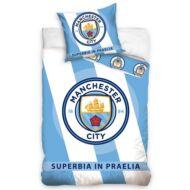 Manchester City ágynemű paplan-és párnahuzat STREAK