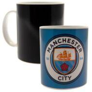 Manchester City hőre változó bögre GERY