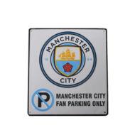 Manchester City parkoló tábla CREST