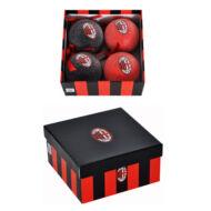 AC Milan karácsonyi dísz  - 4db-os