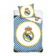 Real Madrid ágynemű paplan-és párnahuzat CUADROS