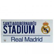 Real Madrid utcatábla