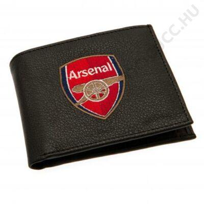 Arsenal címeres bőr pénztárca
