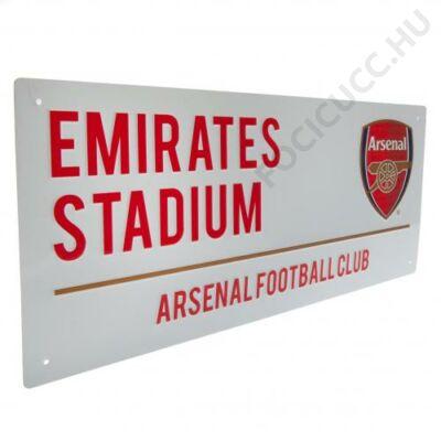 Arsenal Emirates utcatábla