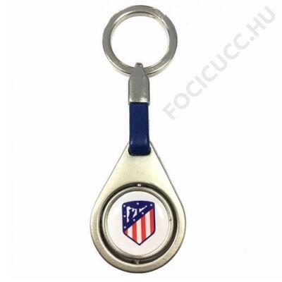 Atletico Madrid fém kulcstartó ROJO