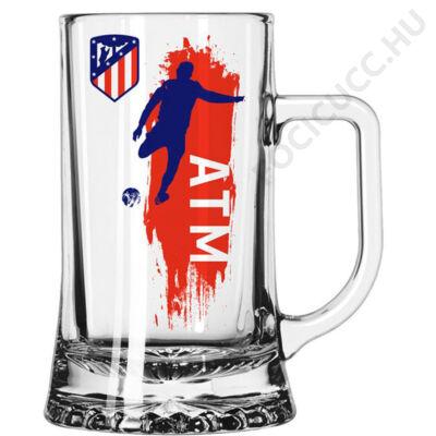 Atletico Madrid sörös korsó