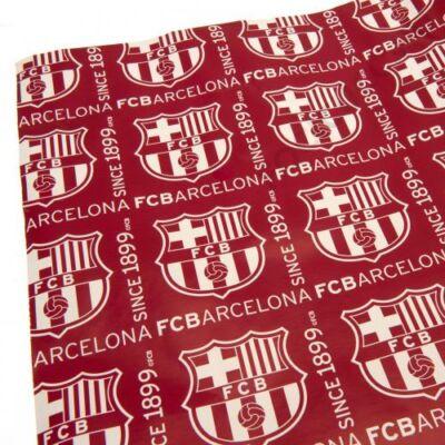FC Barcelona csomagoló papír CREST