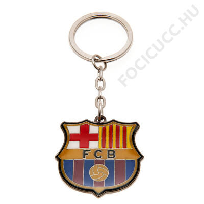 FC Barcelona fém kulcstartó