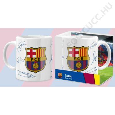 FC Barcelona kerámia bögre BLANCA FIRMAS