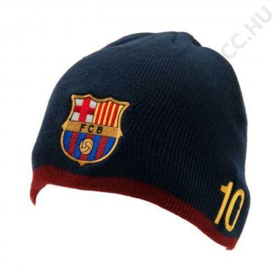 FC Barcelona kötött kék sapka MESSI