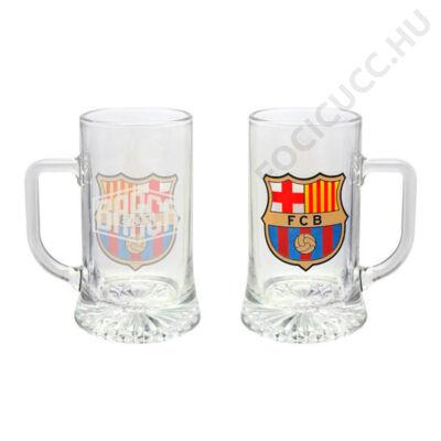 FC Barcelona sörös korsó ESCUDO