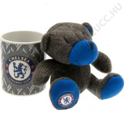 Chelsea kerámia bögre plüss mackóval