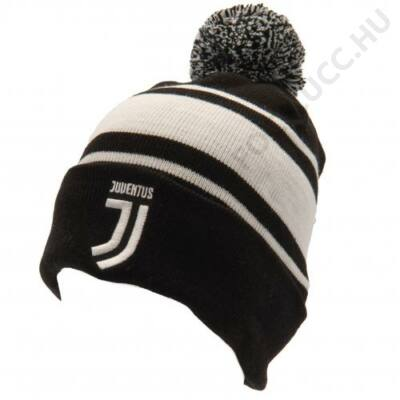 Juventus bojtos kötött sapka