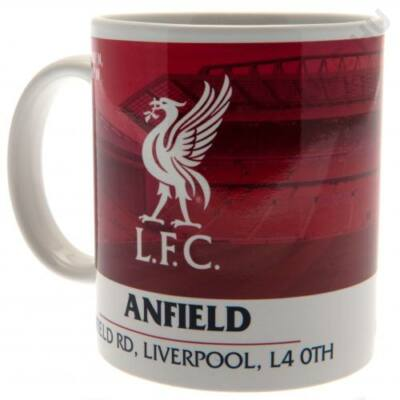 Liverpool kerámia bögre ANFIELD
