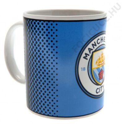 Manchester City kerámia bögre FADE