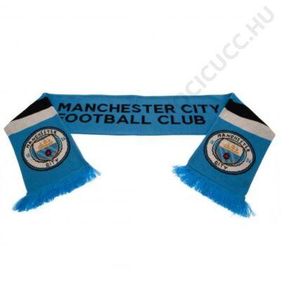 Manchester City kötött sál STRIPE