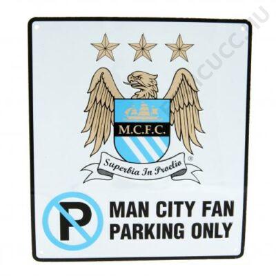 Manchester City parkolni tilos tábla