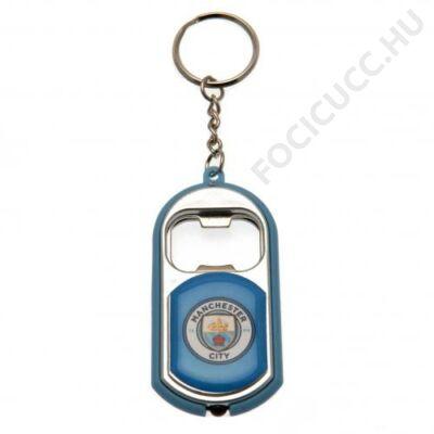 Manchester City sörnyítós kulcstartó BLUE