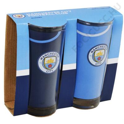 Manchester City színes pohár - 2db