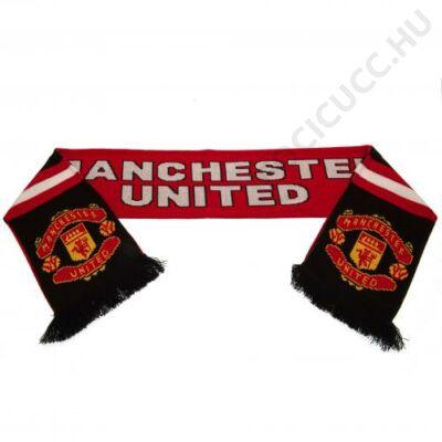 Manchester United kötött sál STRIPE