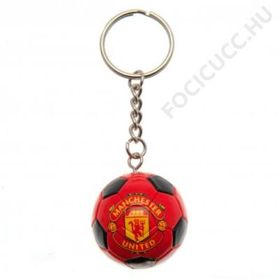 Manchester United focilabda kulcstartó