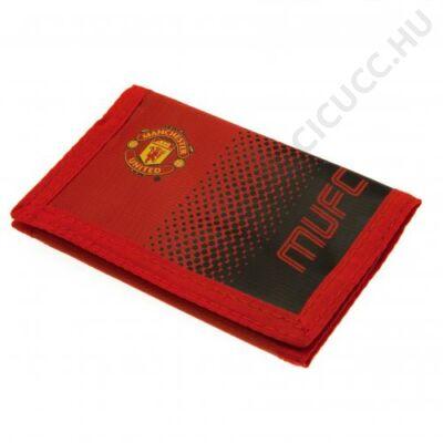 Manchester United tépőzáras pénztárca FADE
