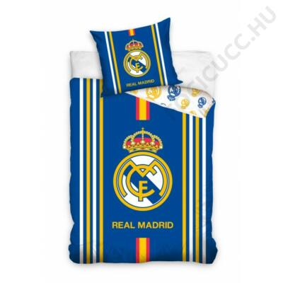 Real Madrid ágynemű paplan-és párnahuzat CIELOReal Madrid ágynemű paplan-és párnahuzat RILLENTO