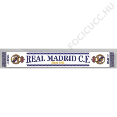 Real Madrid kötött sál Blanco Since - Focis cuccok d25eb4bf46