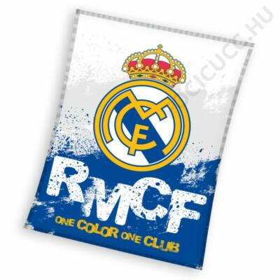 Real Madrid polár takaró RMCF