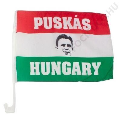 Puskás autós zászló
