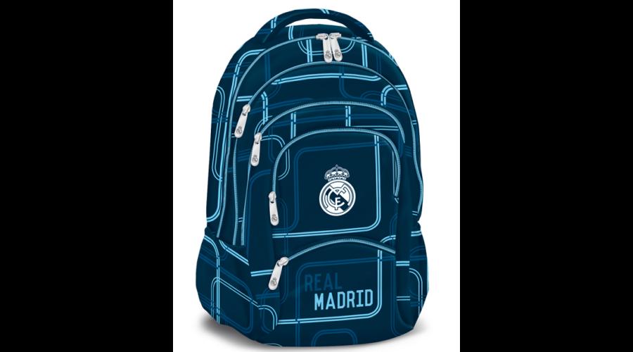 e3629b826da4 Real Madrid minőségi hátizsák állítható vállpántokkal, párnázott ...