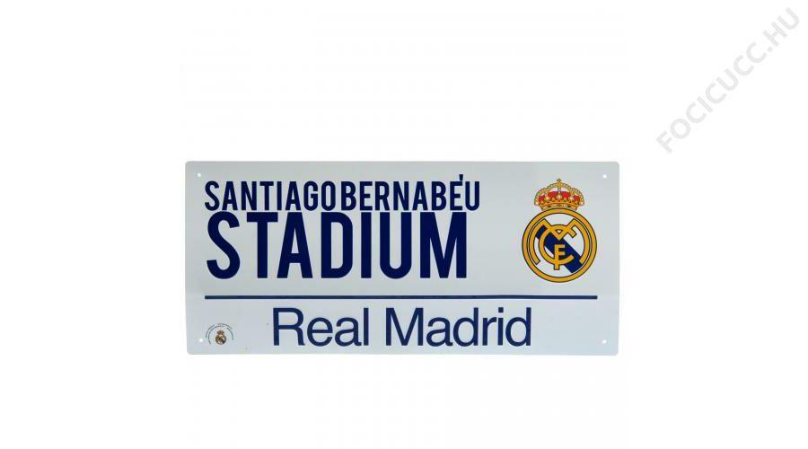 Real Madrid utcatábla fehér Katt rá a felnagyításhoz 99eb948d1a