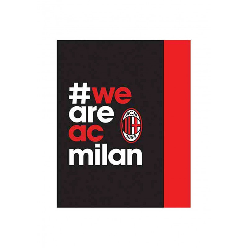 AC Milan WAAM szurkolói takaró 50b1516fc6